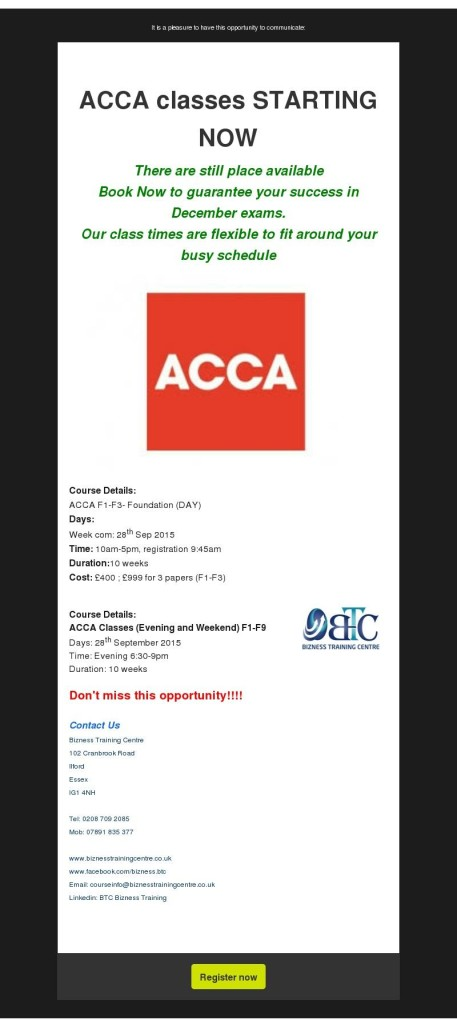 ACCA Newsletter September 2015