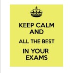 keep calm Exam tips dec15